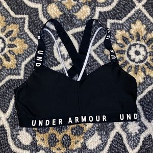 UNDER ARMOUR | Word Mark Strappy Bra